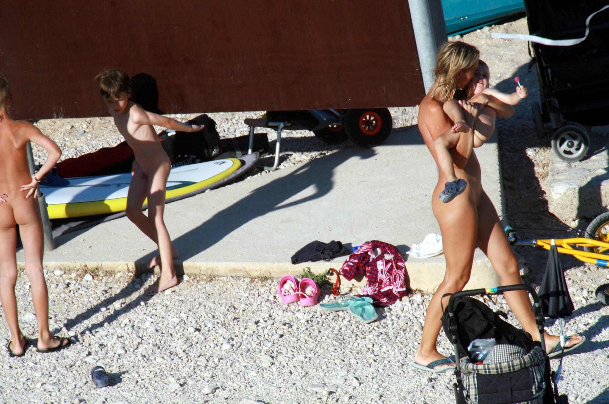 Nudist Photos Nude Beach Resting Board - 2