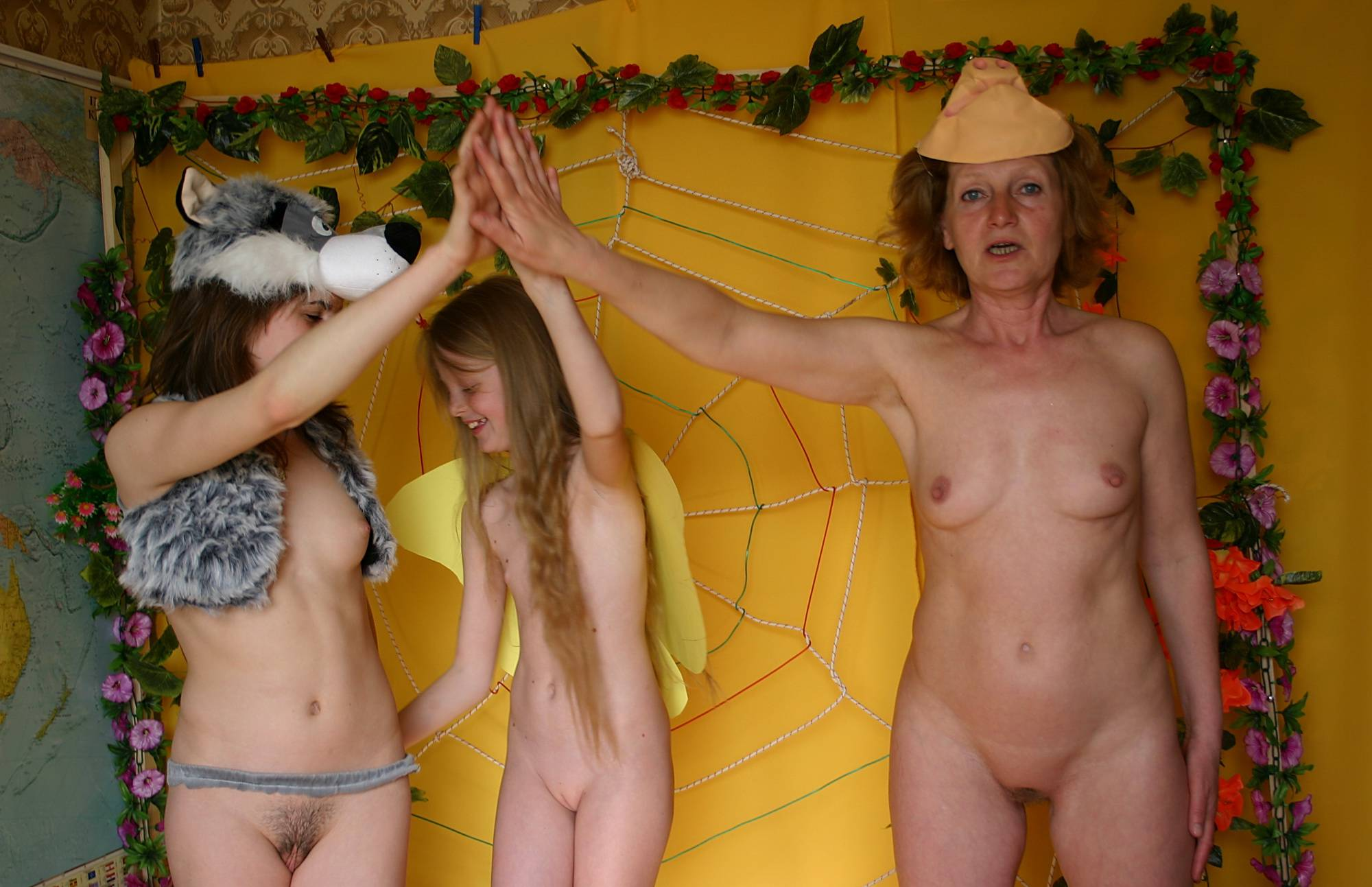 Nudist and Woolf Costume - 1