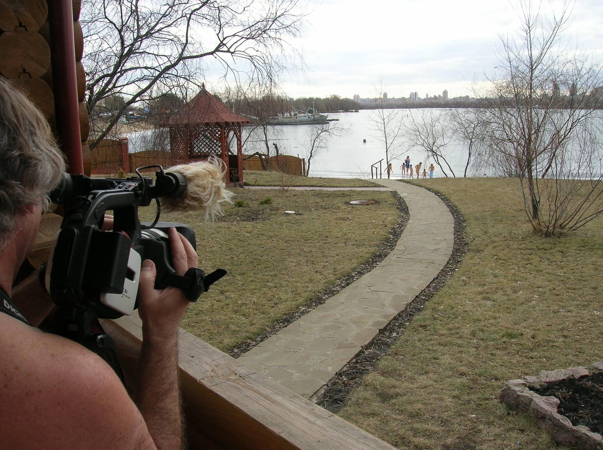 Nudist Photos Valentine Nude Ice Jumper - 1