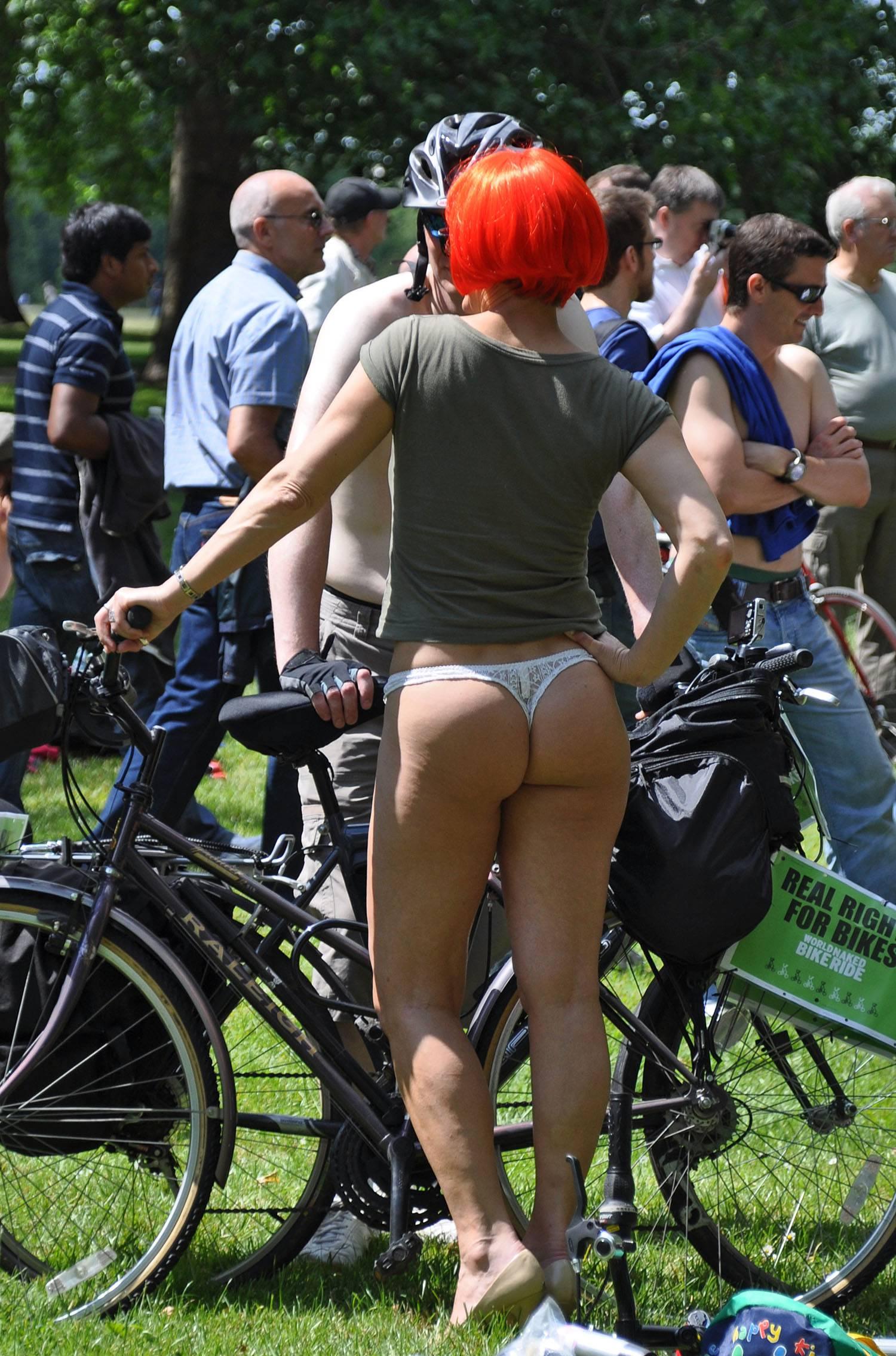 Nudist Photos World Naked Bike Ride (WNBR) 2009 - 1