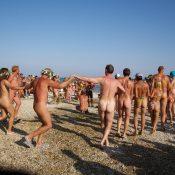 Nudist Go-Around Dancing