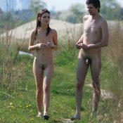 Lake Brzegi Couple Walk