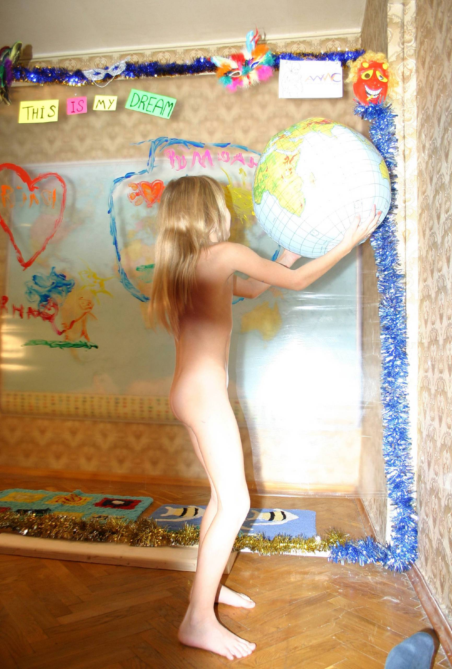 Nudist World Play Posing - 1