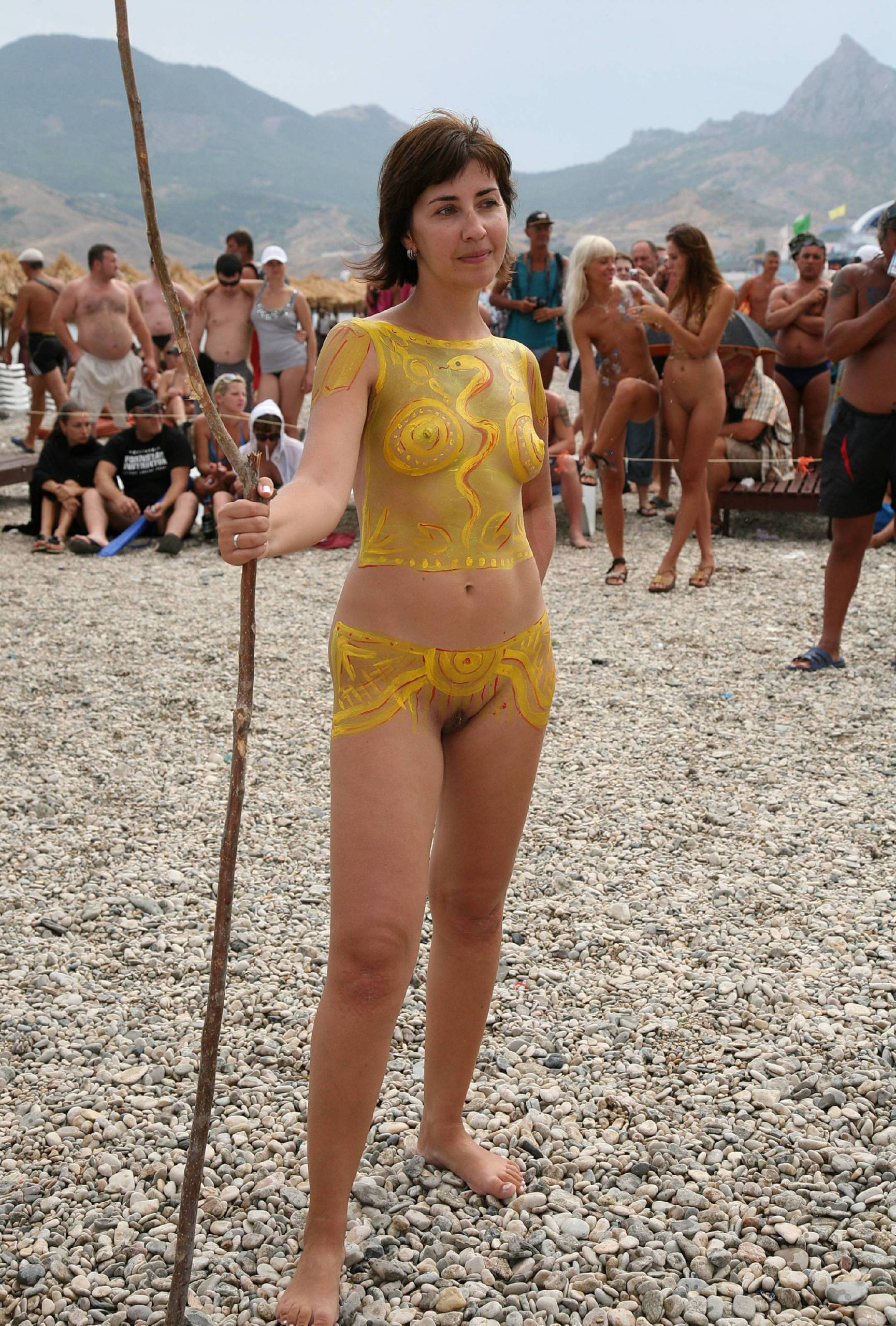 Nudist Gallery Outdoors Naturist Party - 2