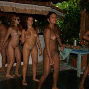 Brazilian Nude Hut Dancing