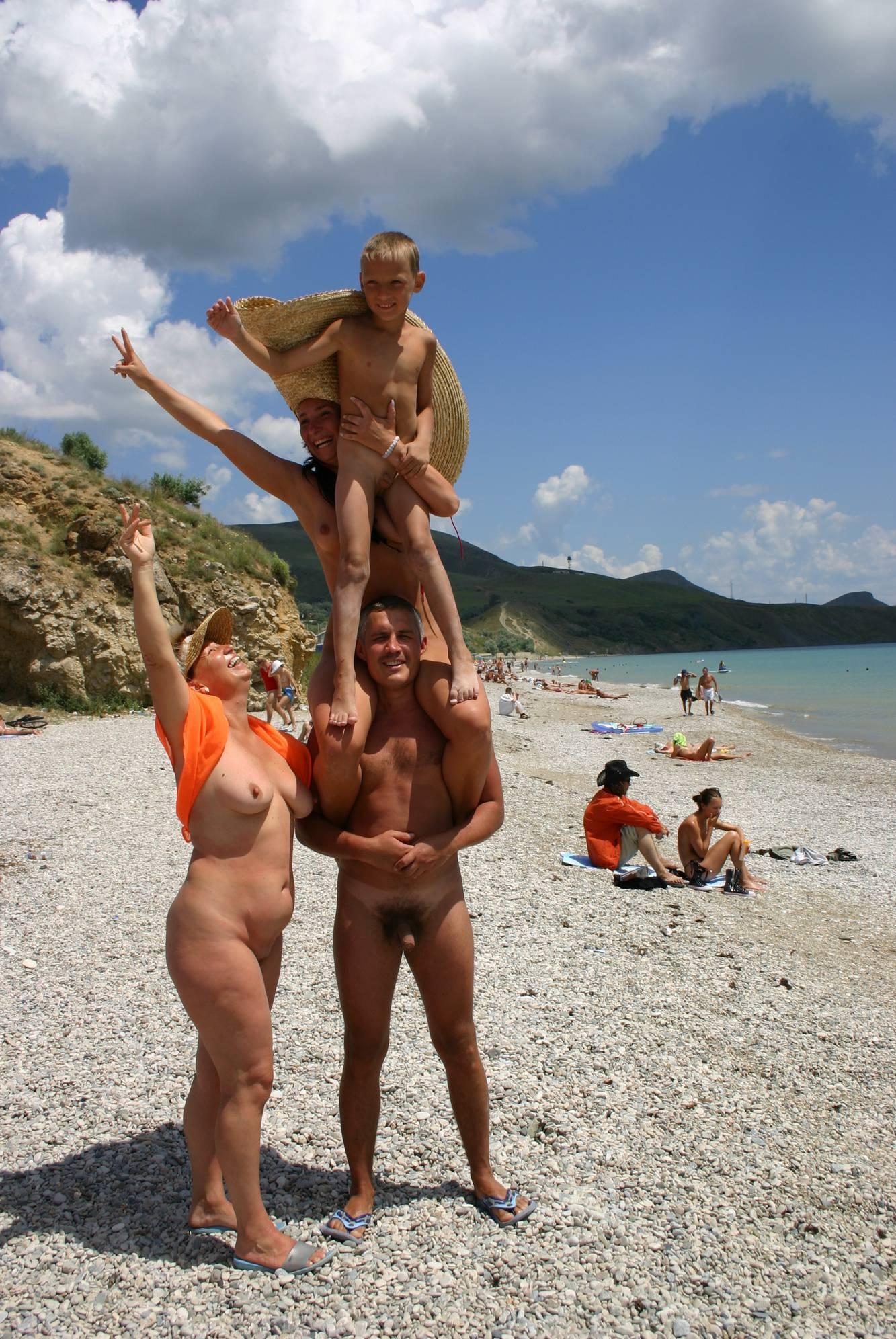 Nudist Photos Crimea Family Sand Profile - 2