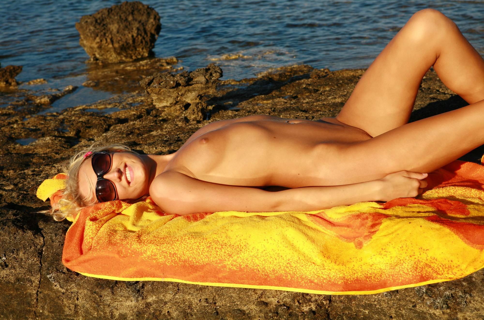 Greek Arid Beach Area - 1