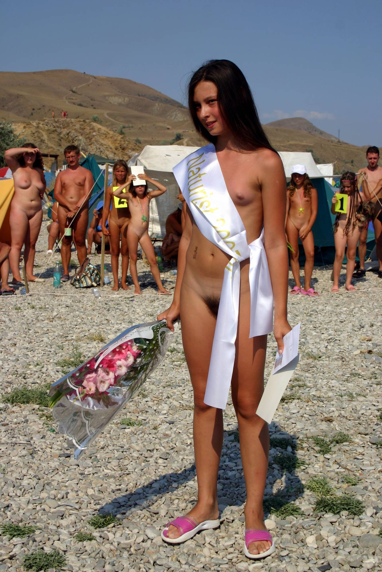 Nudist Pictures Pageant Winner Flowers - 1