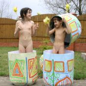 Easter 2X Eggs Outdoors