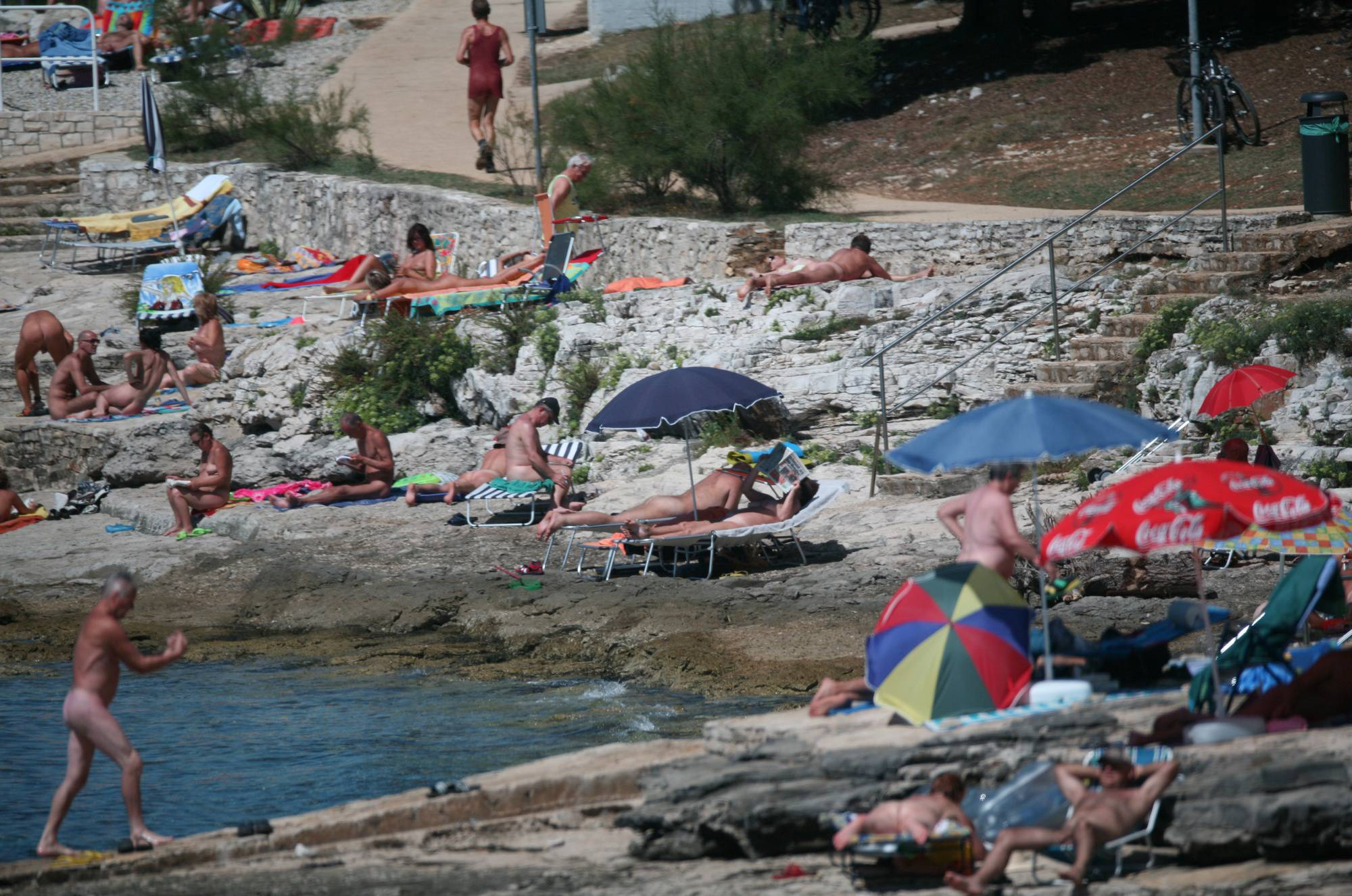 Far Nudist Beach Look-Out - 2
