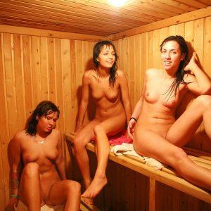 Girls Rec Room Sauna