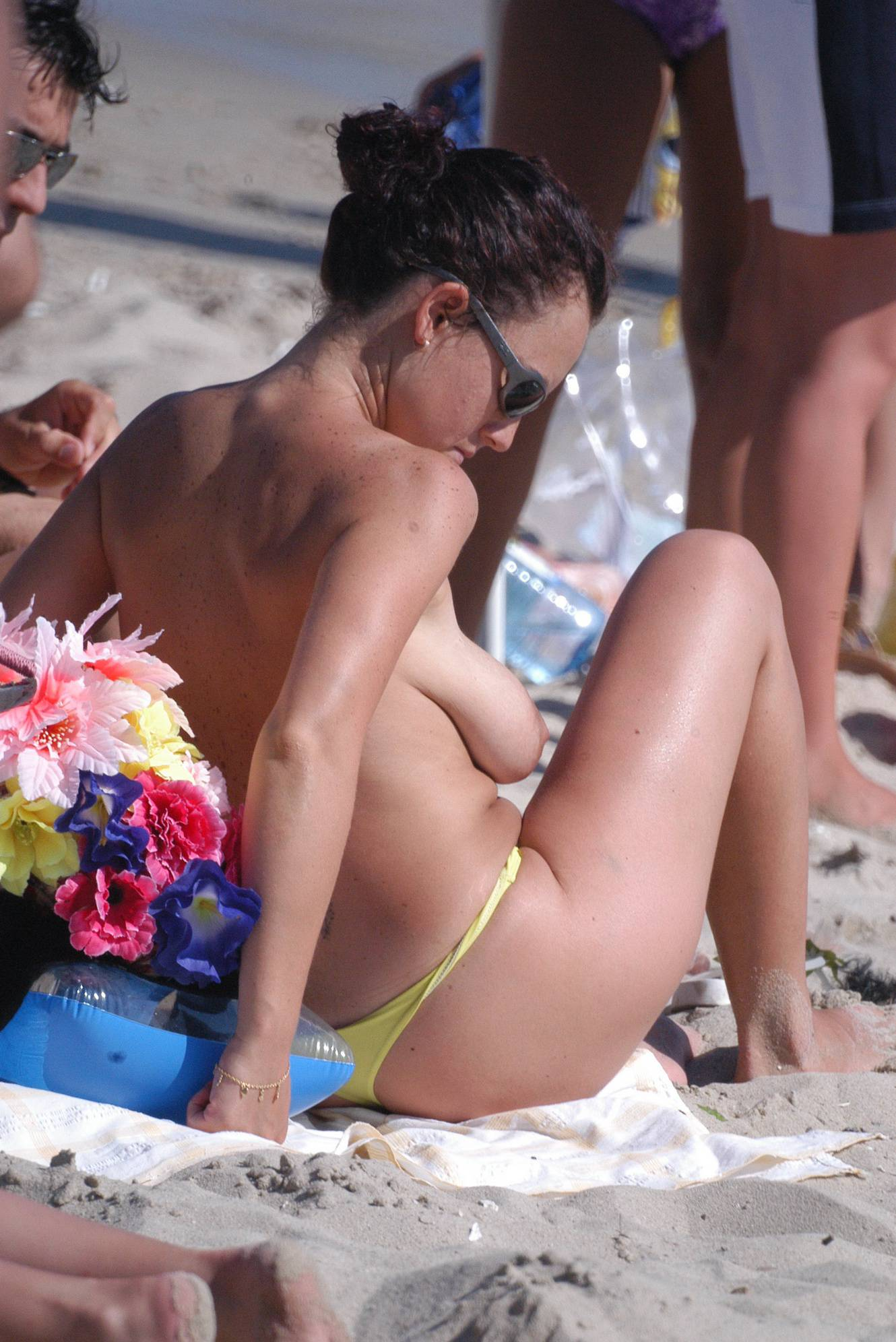 Nudist Pics Verna Topless Beach HQ - 1