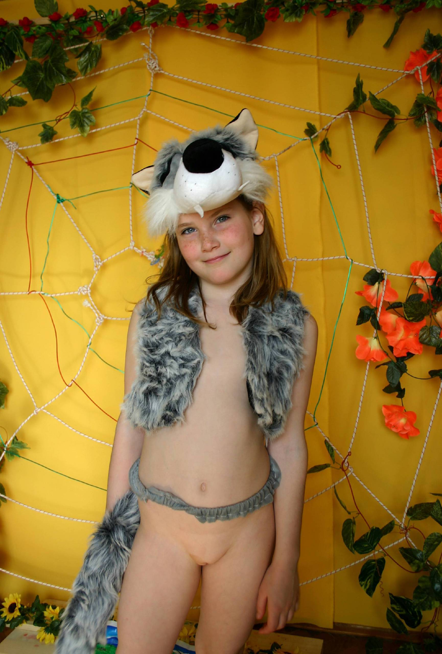 Nudist and Woolf Costume - 2
