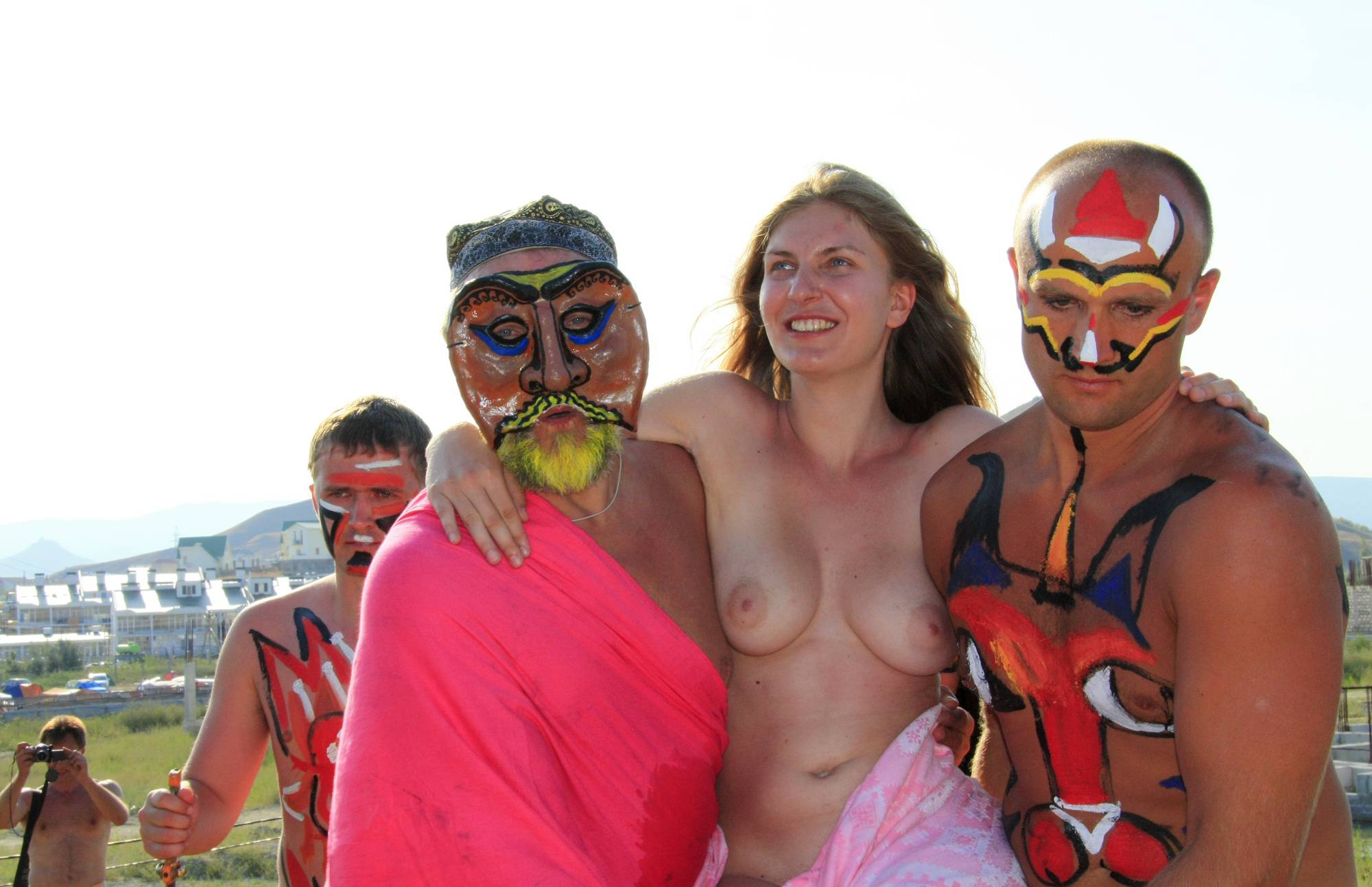 Nudist Pics Our Way To The Mountain - 2