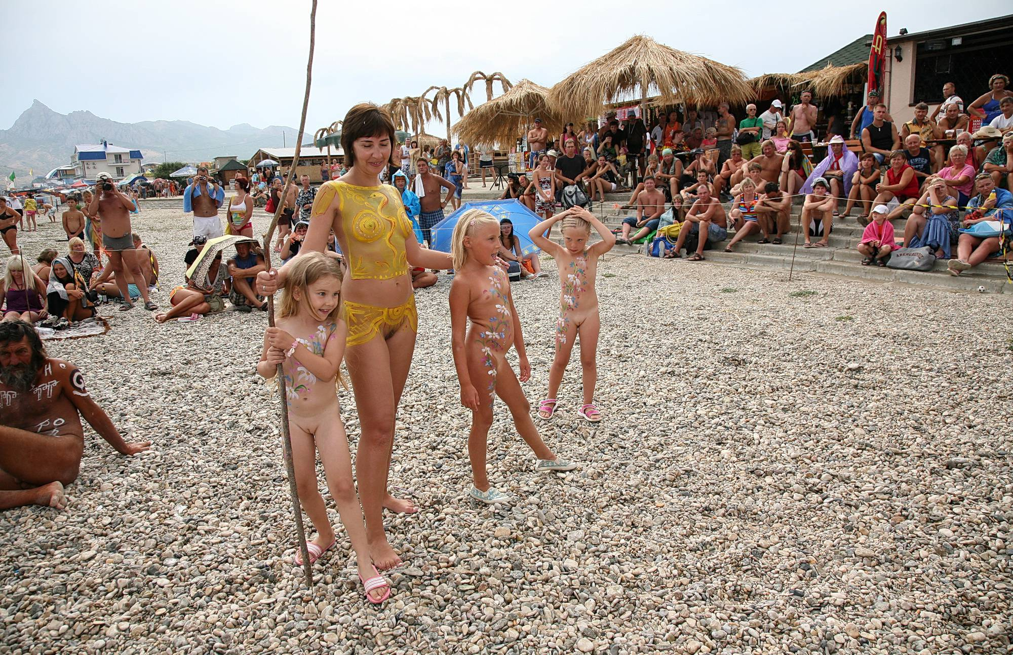 Nudist Pictures Outdoors Naturist Party - 1