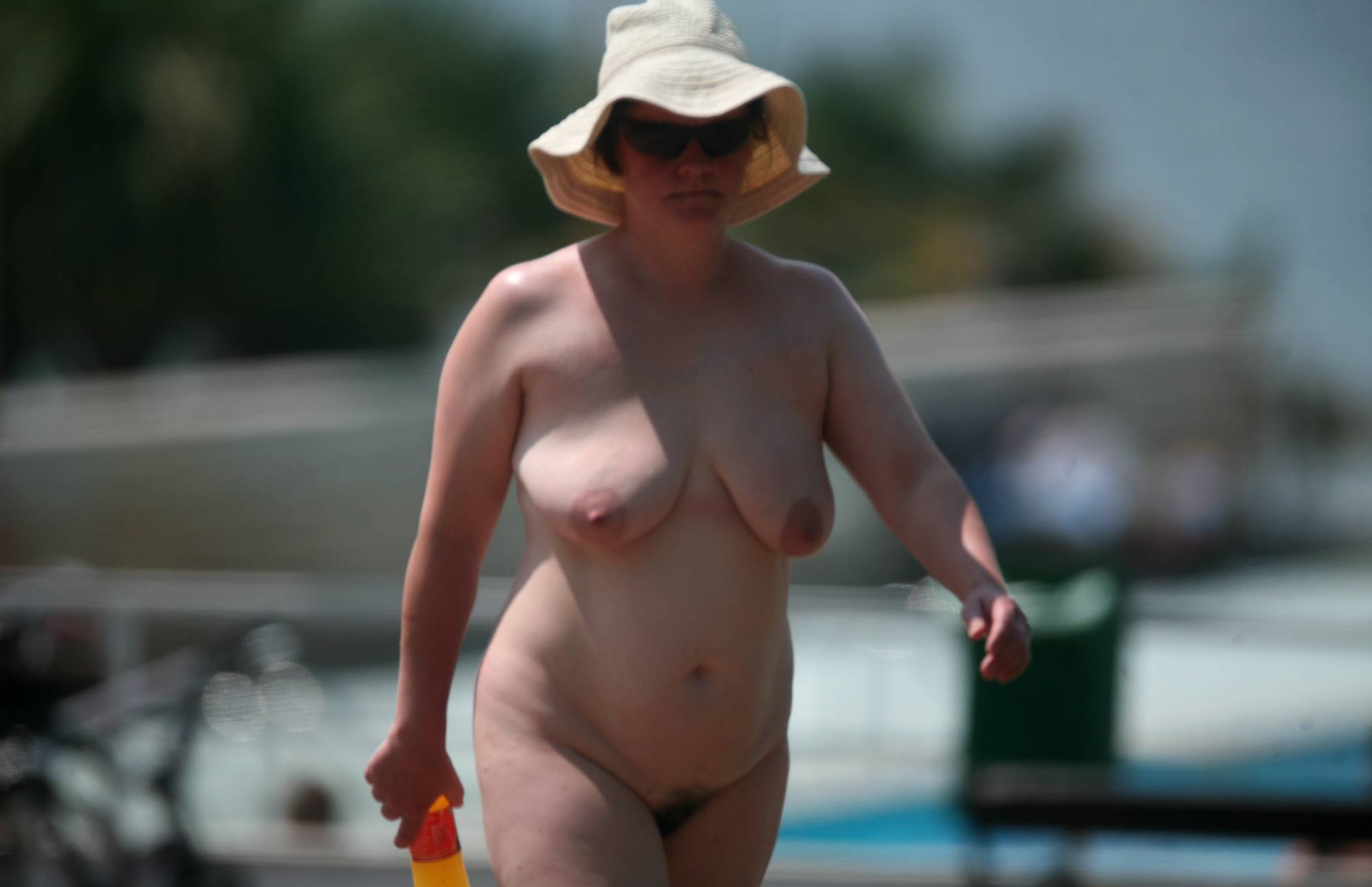 Nudist Gallery Poolside Camp Gathering - 2