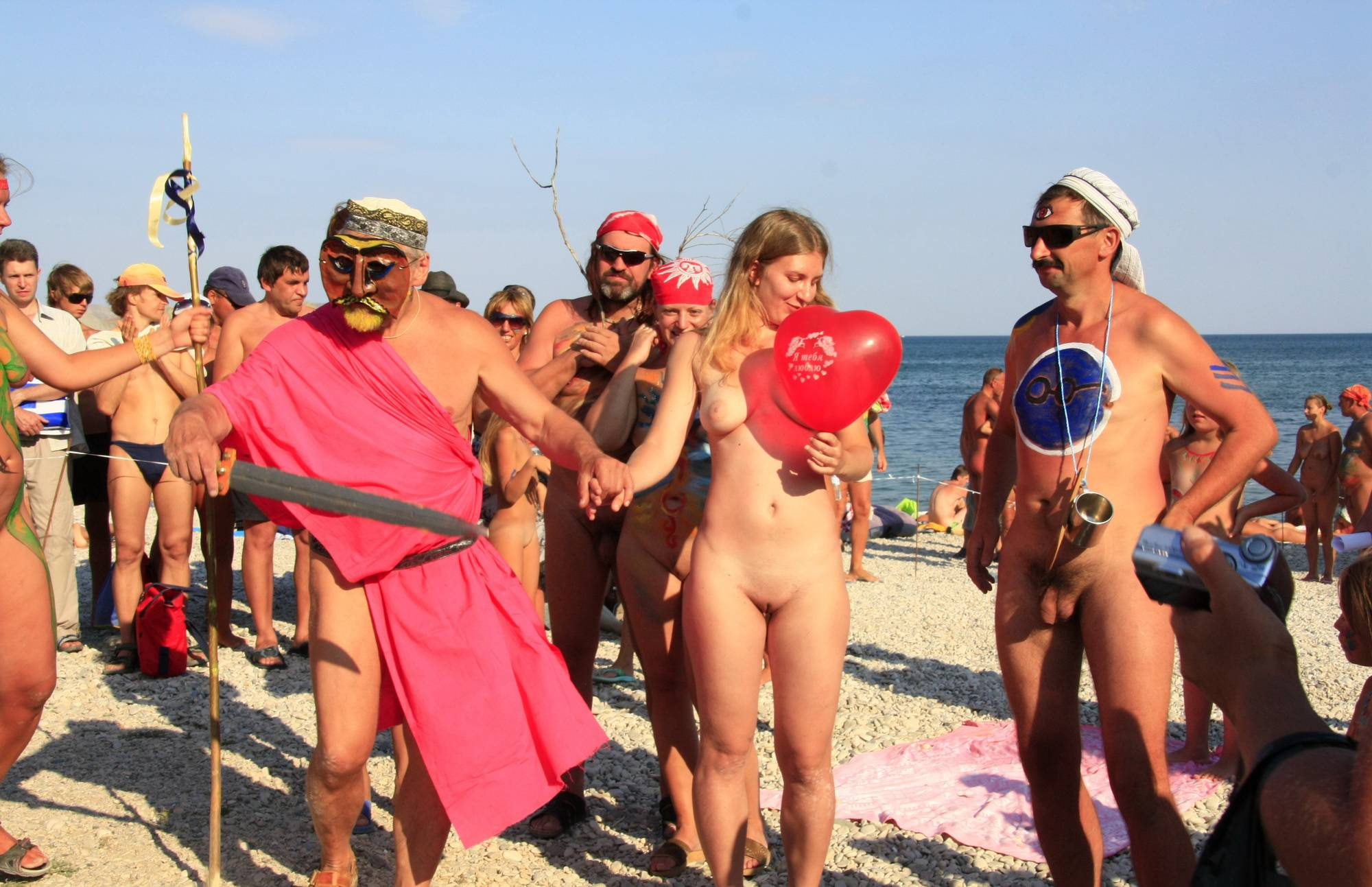 Nudist Pictures Red Balloon Strong Hold - 2