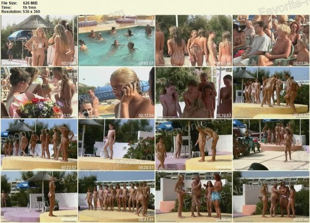 Frame of Junior Nudist Contest 7