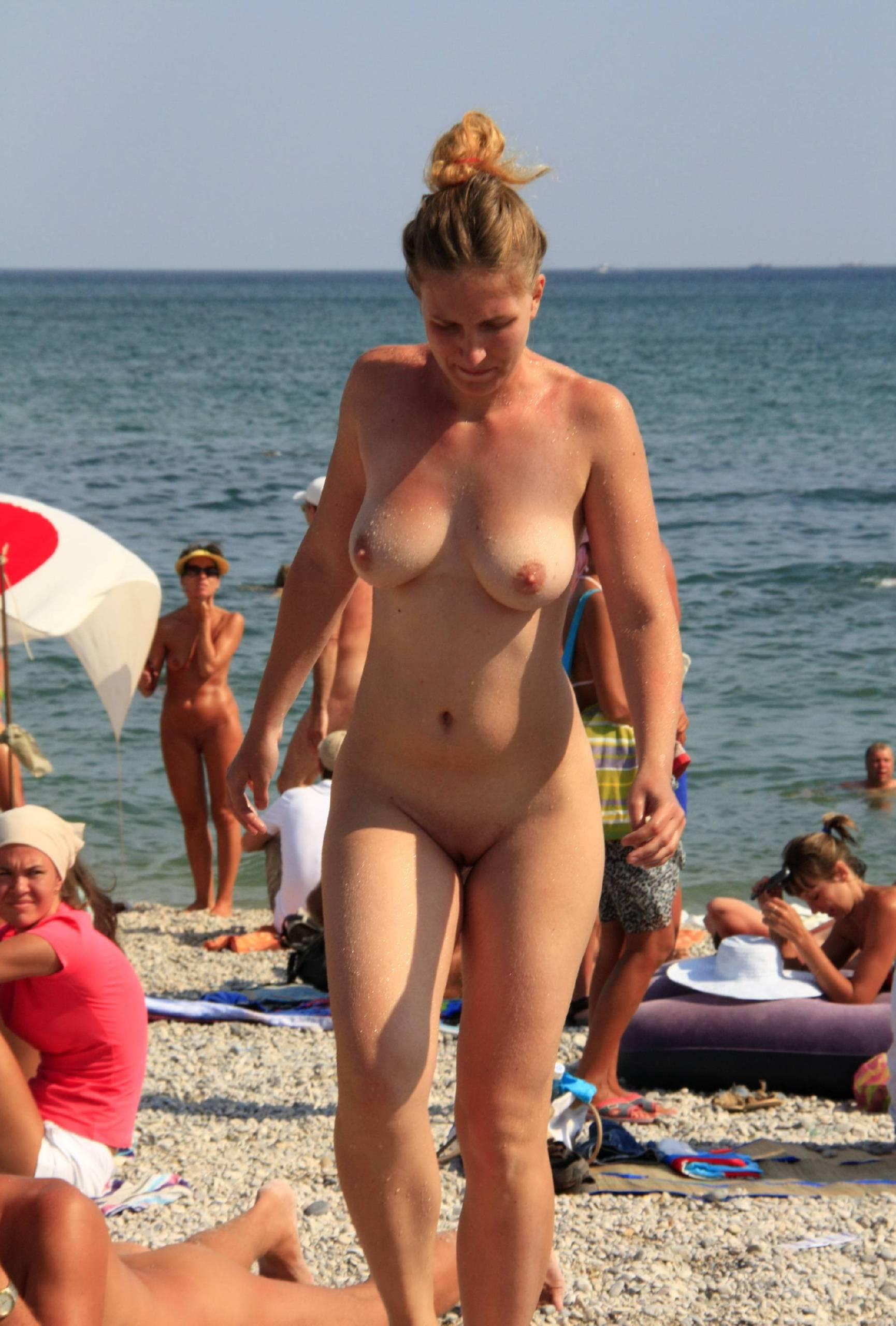 Nudist Photos Sand Beach Get Up and Go - 2