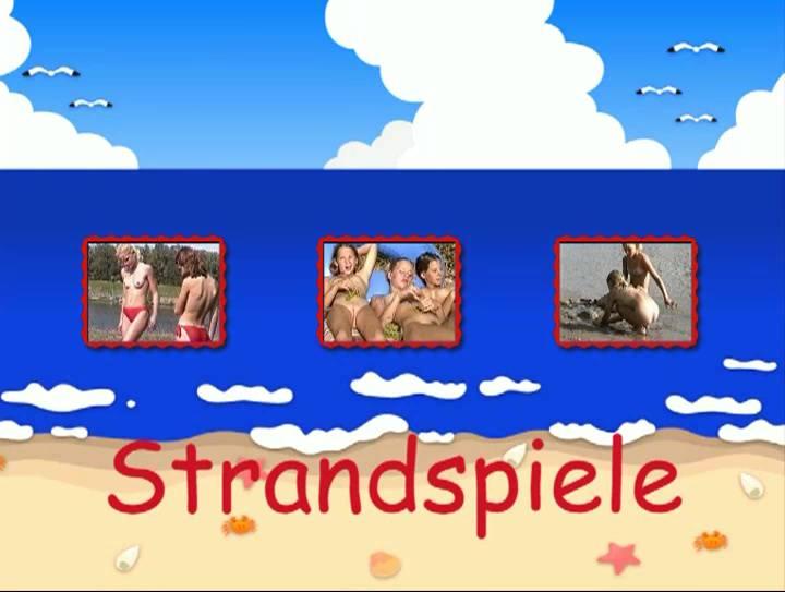 FKK Videos Strandspiele - Poster