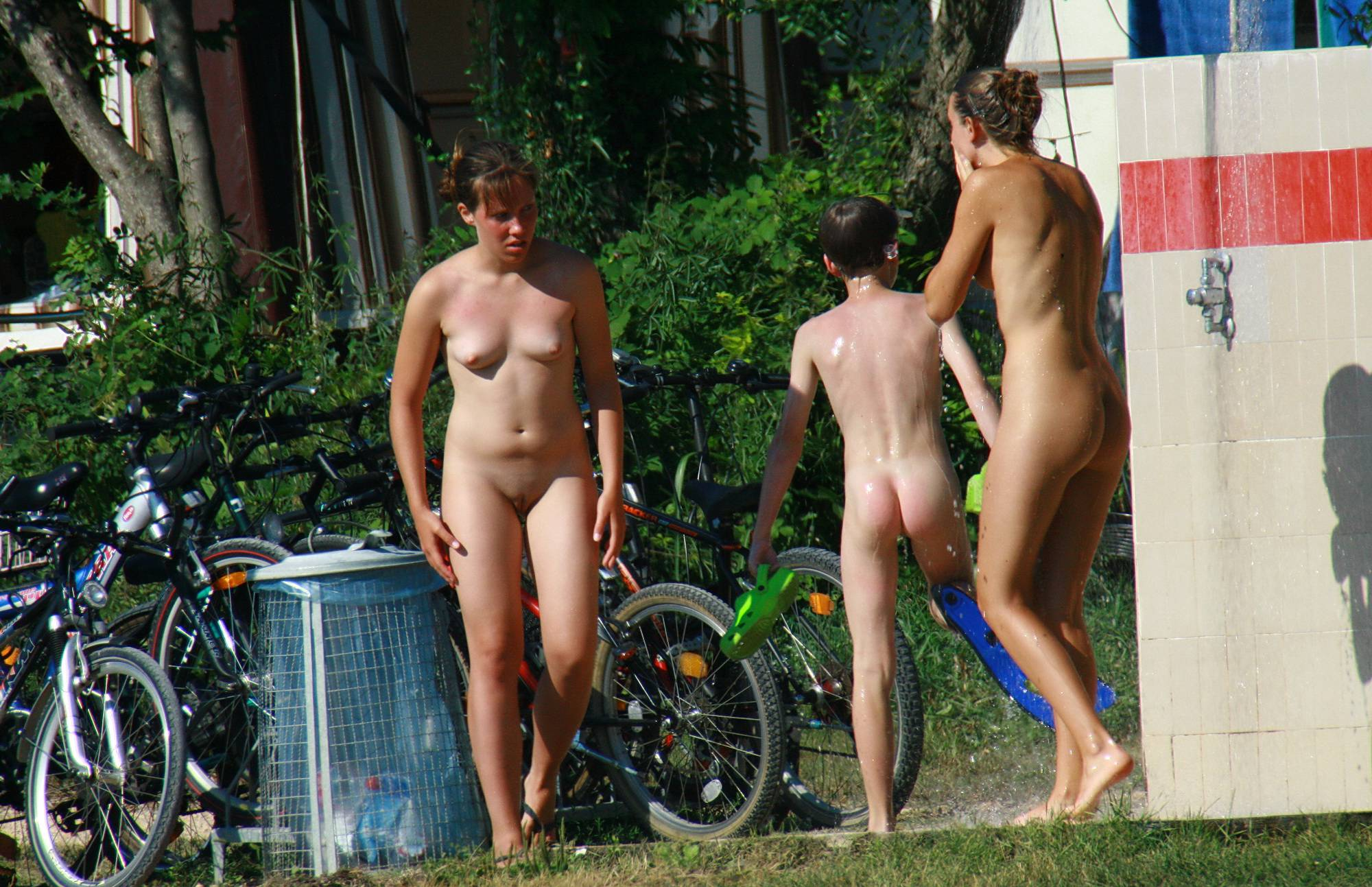 Nudist Photos Summer Day Cool Down - 1