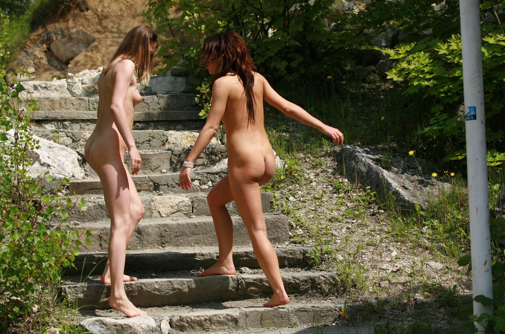 Nudist Gallery Sunny Day Naturist Walk - 1