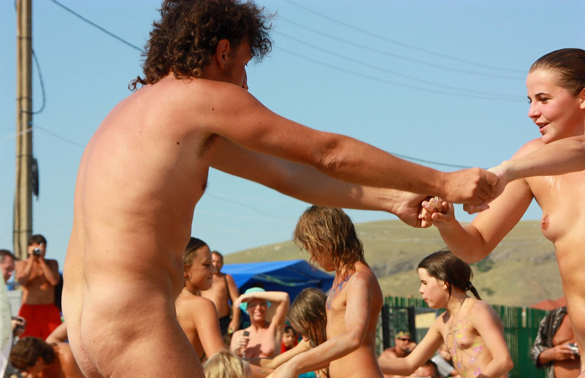 Nudist Photos Sunshine Dance Festival - 1