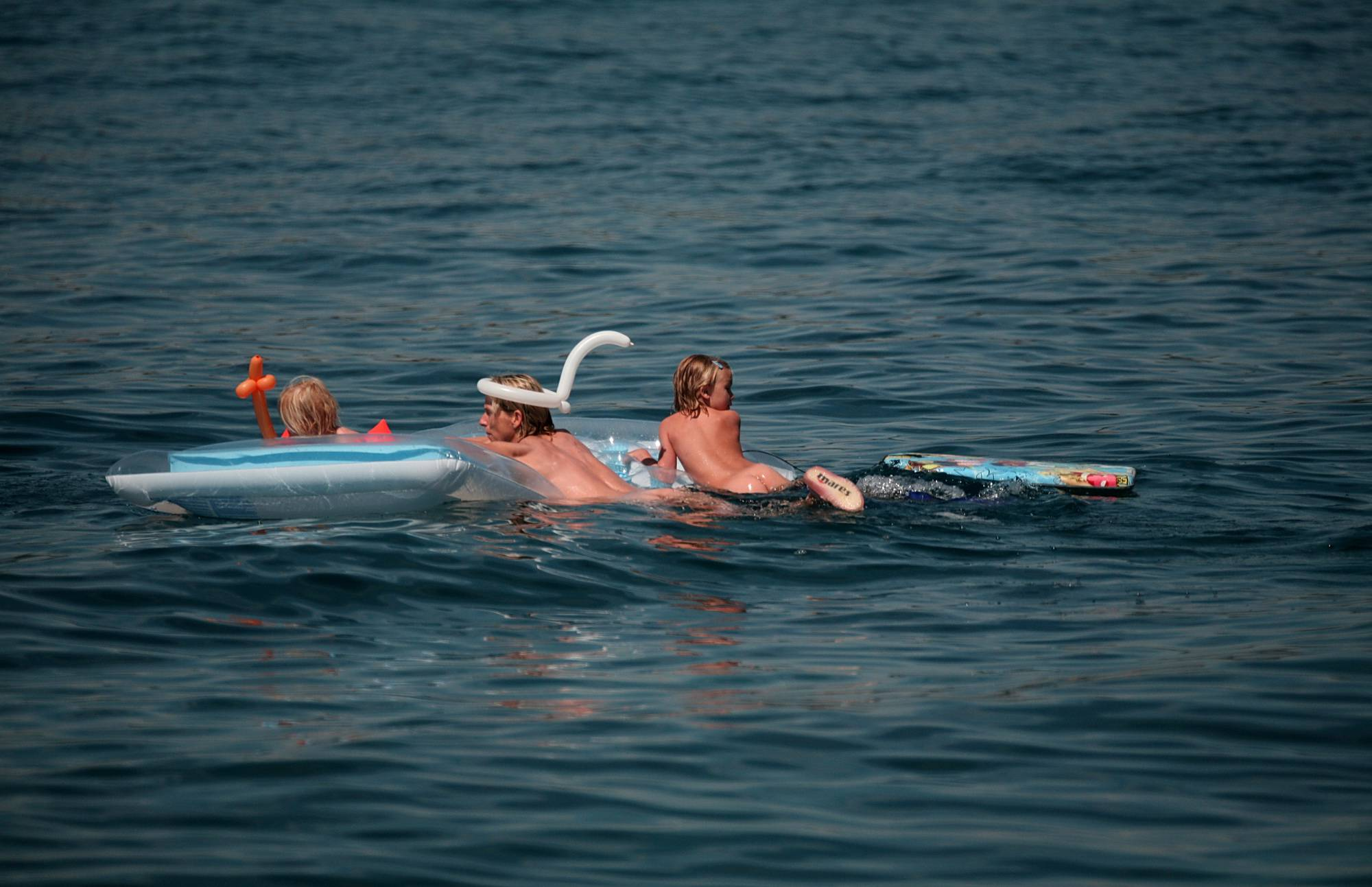 Swimming With Float Rafts - 1