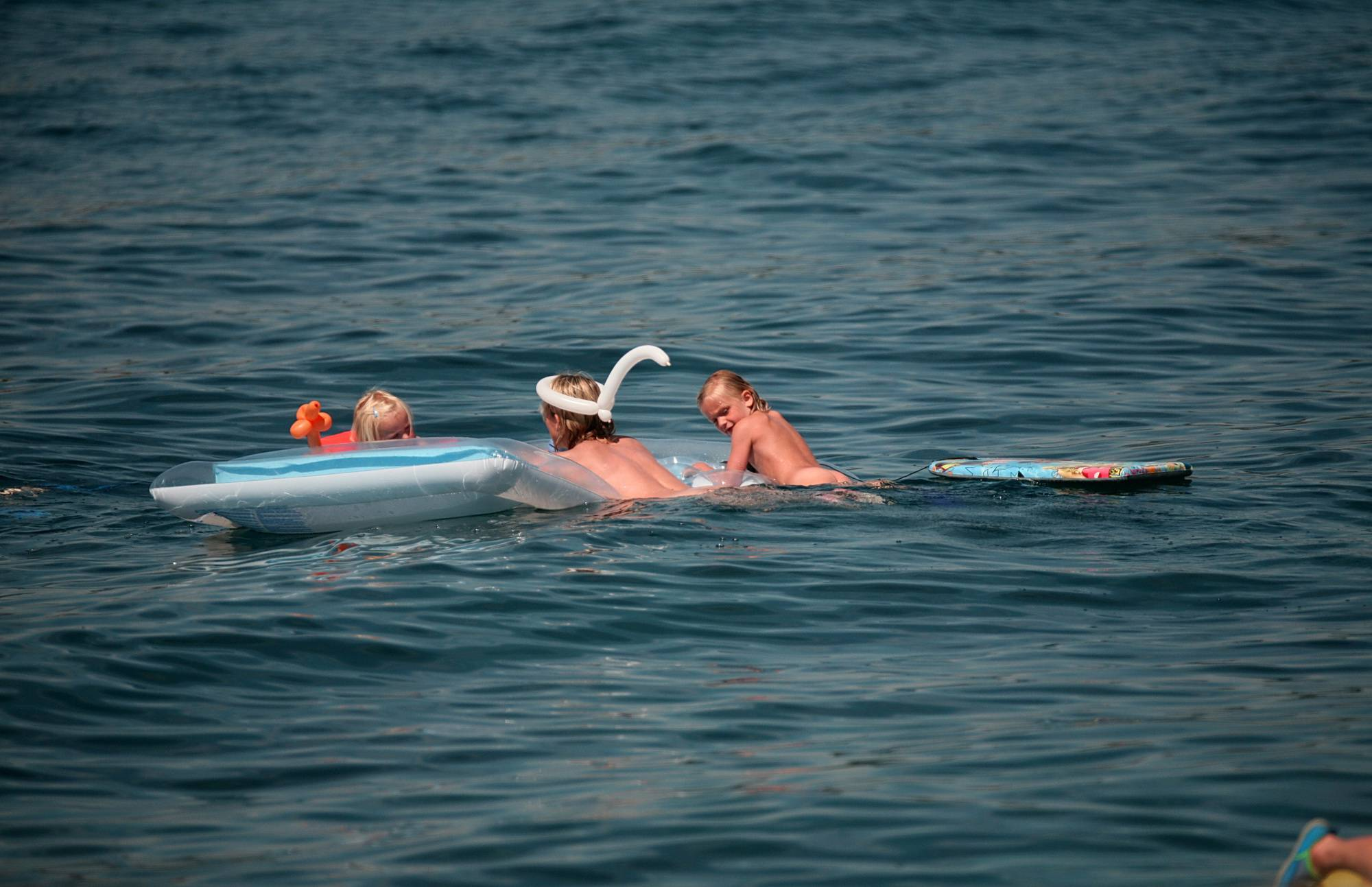 Swimming With Float Rafts - 2