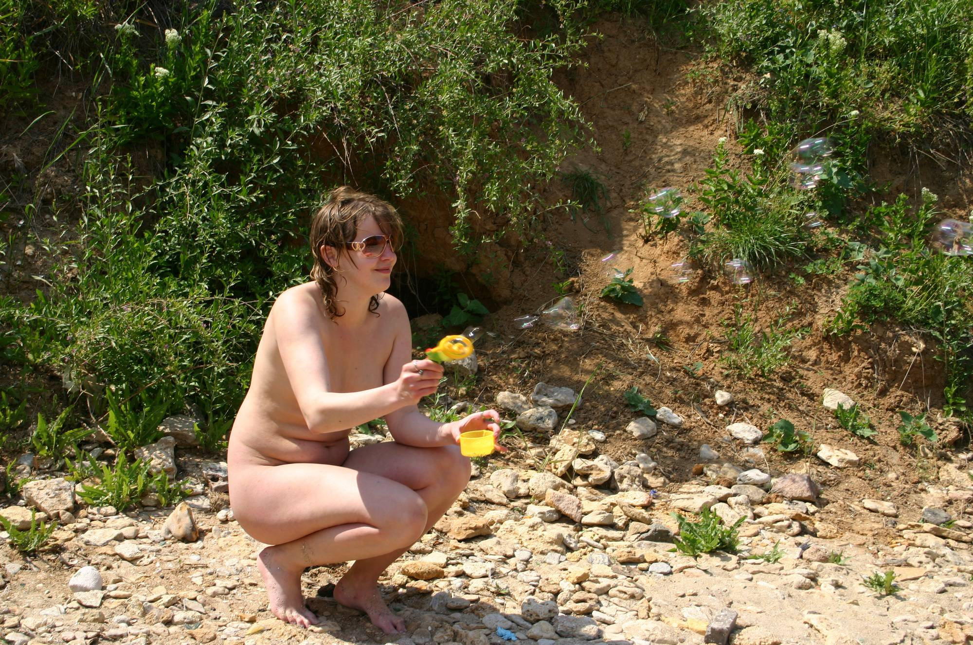 Nudist Gallery The Bubble Blowing Single - 2