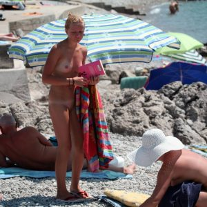 Trail of Two Naturist Girls
