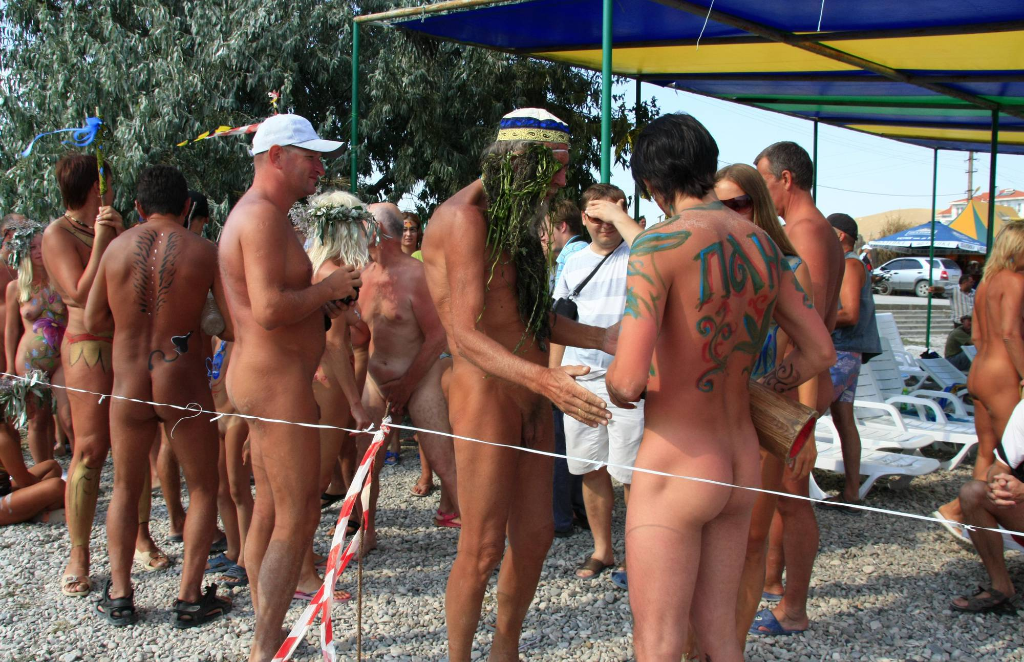 Nudist Photos Ukrainian Water Drying Off - 1