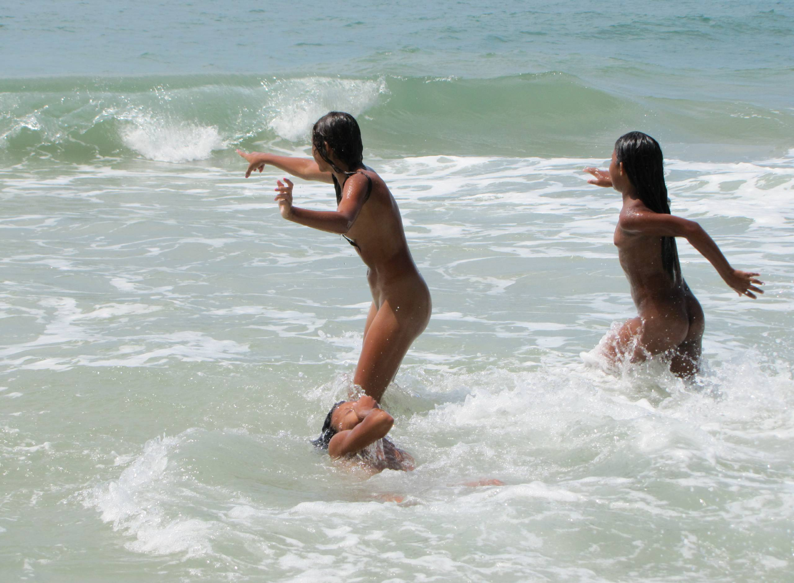 Nudist Photos Warm Brazilian Beach - 2