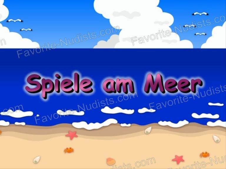 Spiele am Meer - shot